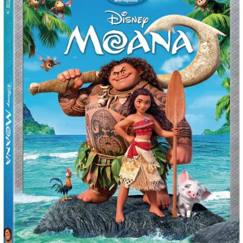 Disney's Moana Blu-ray review