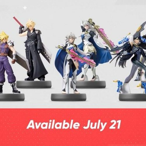 Cloud, Bayonetta, Corrin, Link amiibo announced during Nintendo Direct