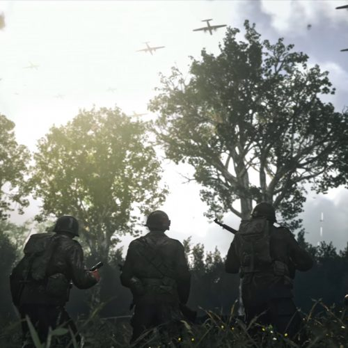 Storm the beaches in the first trailer for Call of Duty: WWII