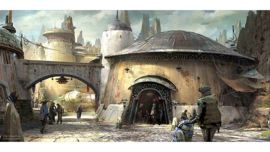 Disney's Star Wars-themed lands