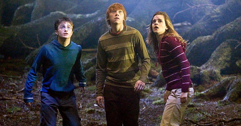 Harry Potter and the Order of the Phoenix - Daniel Radcliffe, Rupert Grint, and Emma Watson