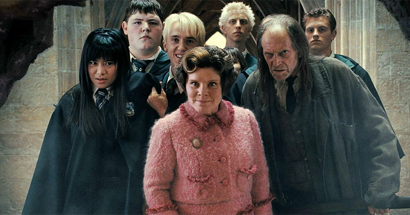 Harry Potter and the Order of the Phoenix - Katie Leung, Tom Felton, and Imelda Staunton