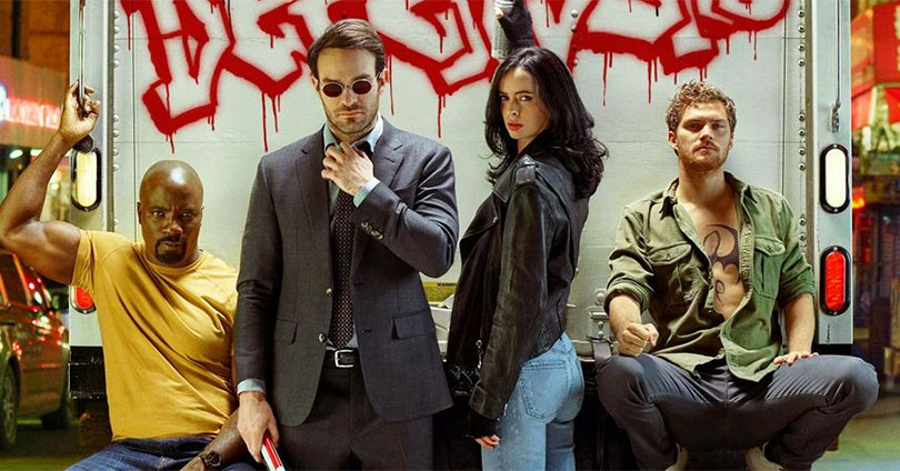 The Defenders - Entertainment Weekly Photoshoot