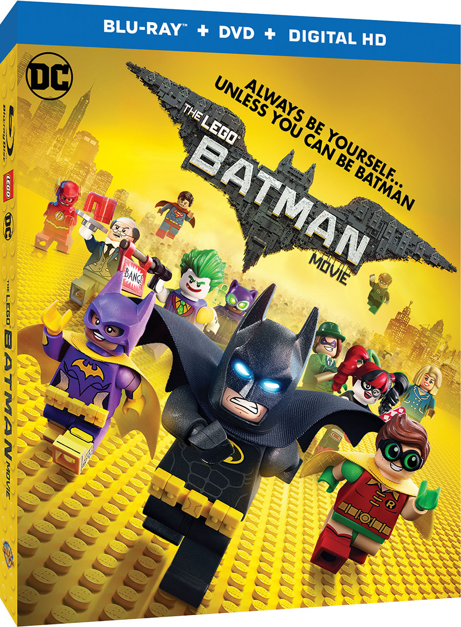 The LEGO Batman Movie - Blu-ray Cover