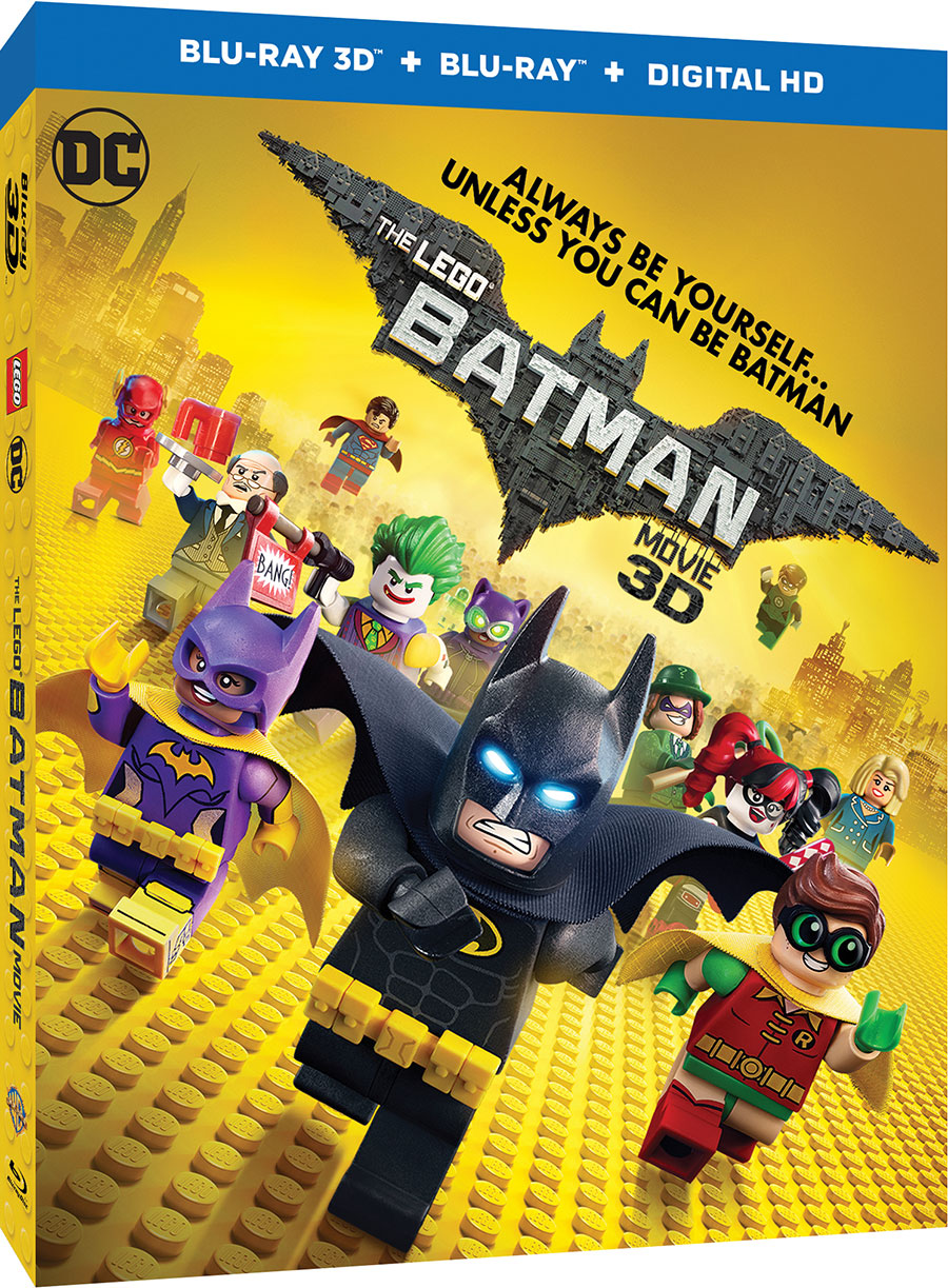 The LEGO Batman Movie - 3D Blu-ray Cover