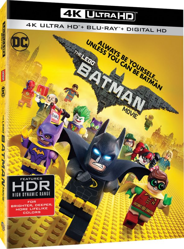 The LEGO Batman Movie - 4K Ultra HD Blu-ray Cover