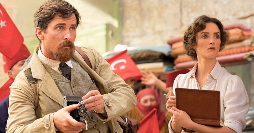 The Promise - Christian Bale and Charlotte Le Bon