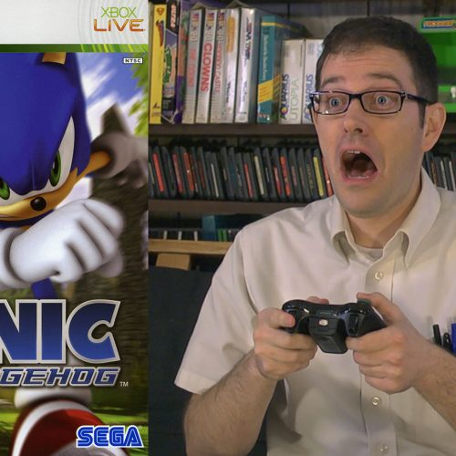 Angry Video Game Nerd fulfills demand for angry Sonic '06 review