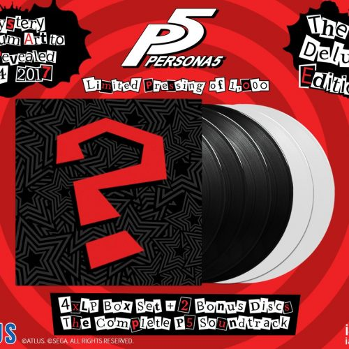 Iam8bit to release entire Persona 5 soundtrack on Vinyl