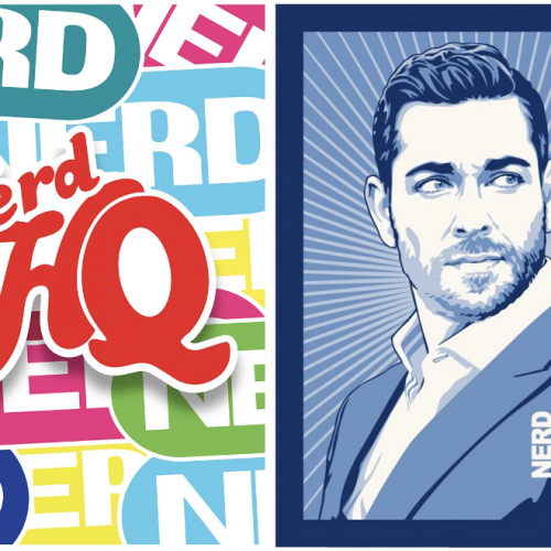 Zachary Levi and Stephen Amell team up for Nerd HQ and Nocking Point wine collaboration