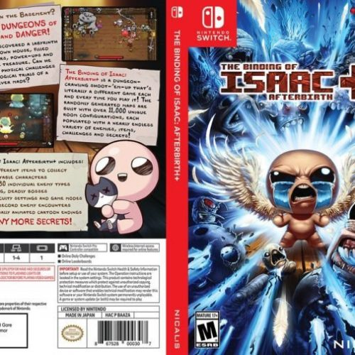 The Binding of Isaac: Afterbirth+ getting new cover art on second-run printings