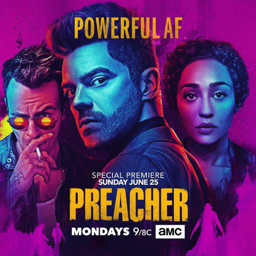 Jesse is 'Powerful AF' in new Preacher season 2 key art
