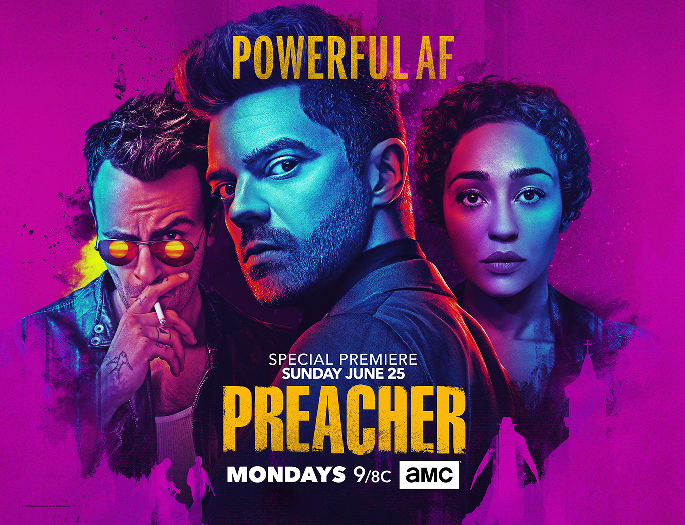 Preacher season 2 key art