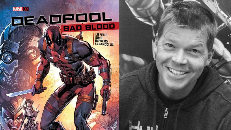 Rob Liefeld Deadpool Bad Blood