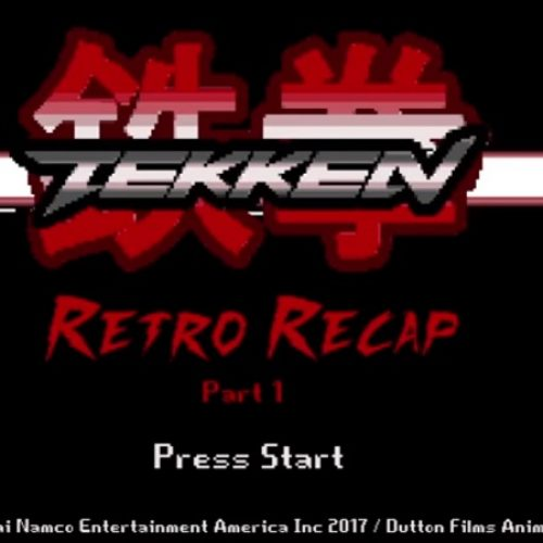 Watch Tekken 1, 2, and 3 retold with 8-bit sprites