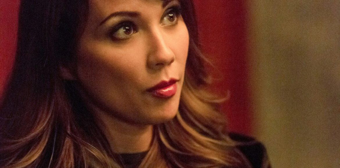 Arrow: Lexa Doig on Talia al Ghul vs Nyssa, season 5 finale, and musicals