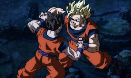 Goku vs Gohan in Dragon Ball Super