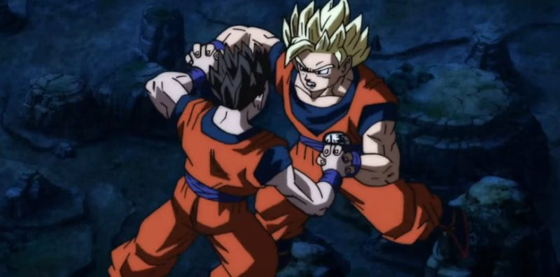 Dragon Ball Super Goku vs Gohan