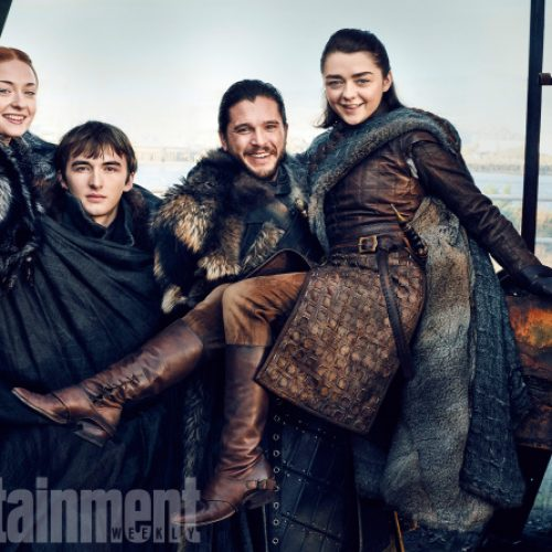 Prepare for Game of Thrones Season 7 with trailer and happy Stark family photos