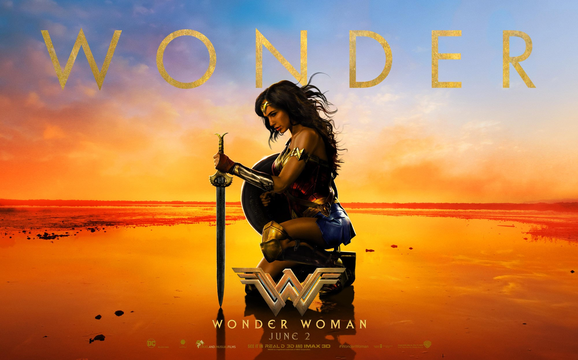 U.S. theaters host women-only screenings of 'Wonder Woman' sparking backlash