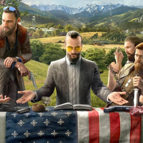 New Far Cry 5 photo teases main villain and religious cult