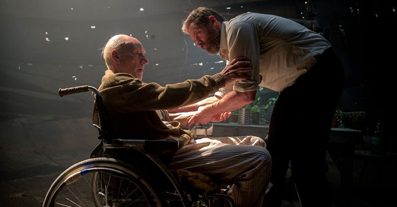 Logan - Patrick Stewart and Hugh Jackman