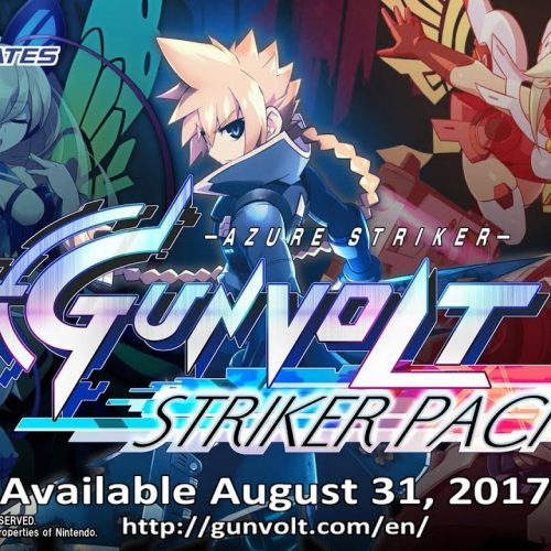Azure Striker Gunvolt: Striker Pack coming to the Nintendo Switch