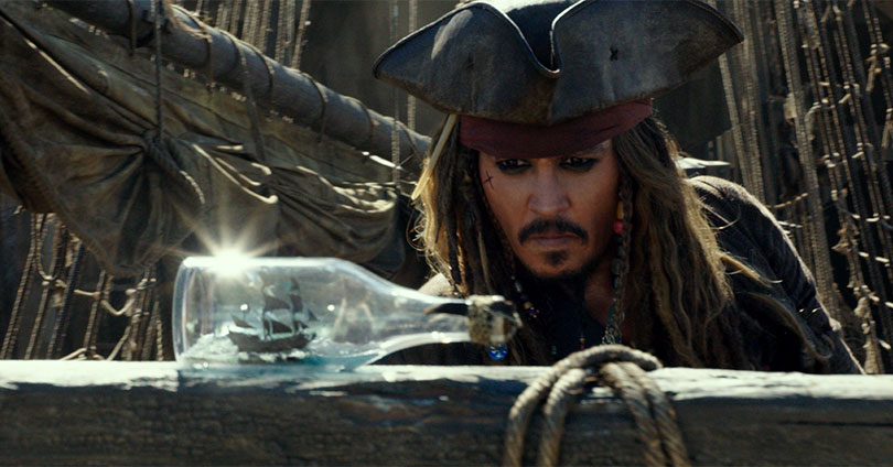 Pirates of the Caribbean: Dead Men Tell No Tales - Johnny Depp
