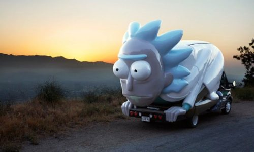 Rick and Morty kicks of promotional tour with Rickmobile store