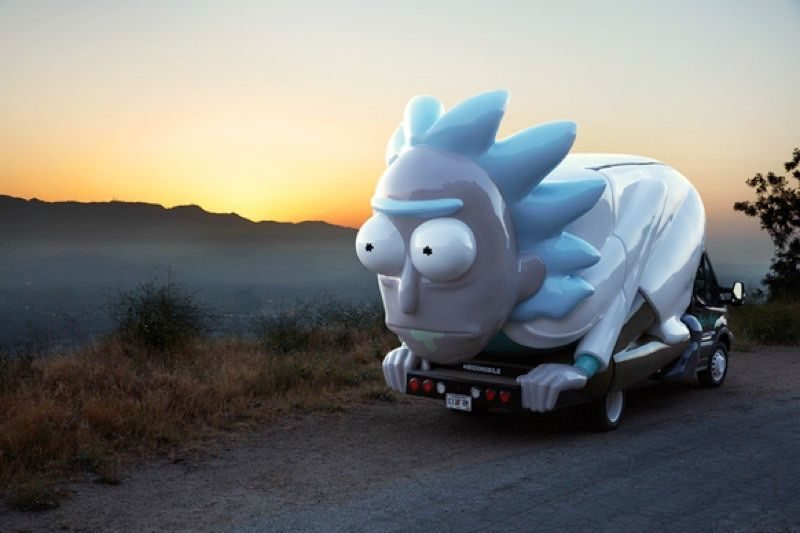 rick and morty rickmobile