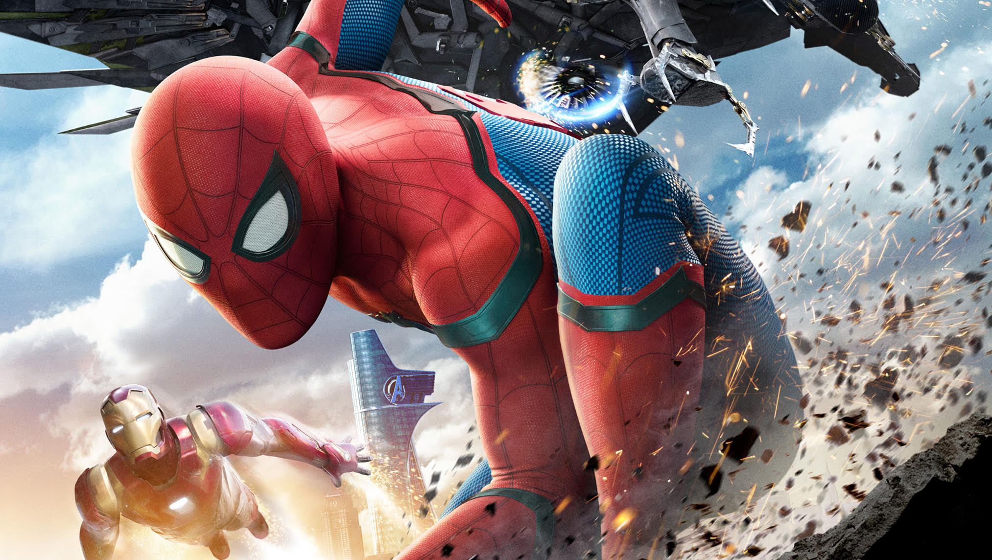 Spider Man Homecoming Gets New Trailers And Posters