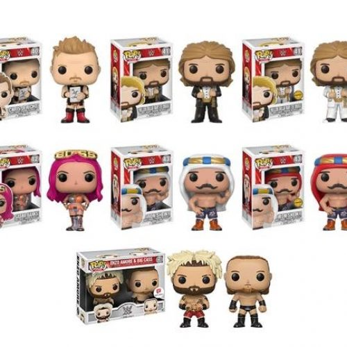 New WWE Funko Pops include Chris Jericho and Million Dollar Man