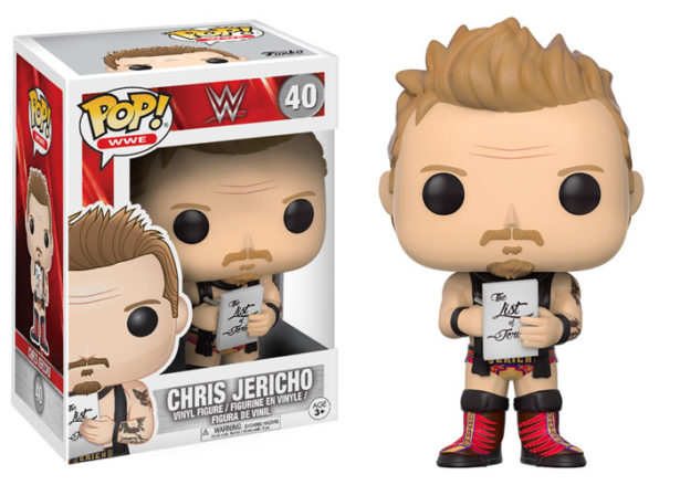 New Wwe Funko Pops Include Chris Jericho And Million