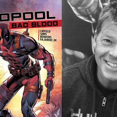 Deadpool co-creator Rob Liefeld on animated series, film and new graphic novel
