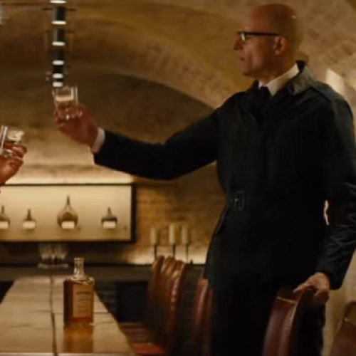 Kingsman: The Golden Circle has its own branded whiskey with Old Forester Statesman