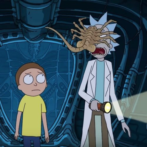 In space, no one can hear you getting schwifty!