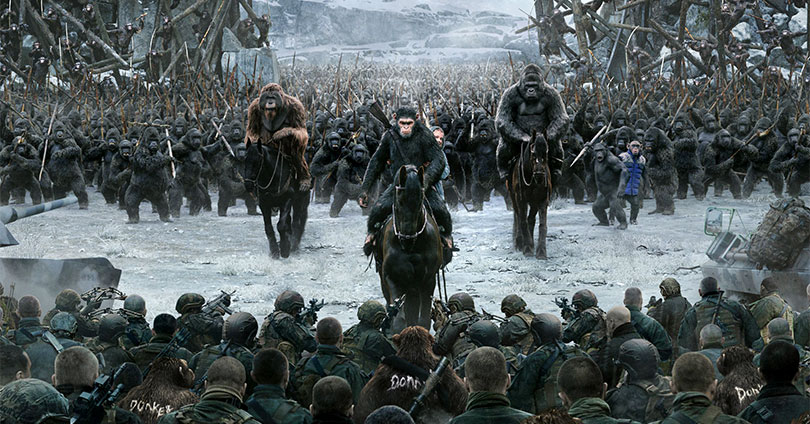 War for the Planet of the Apes - Poster #3