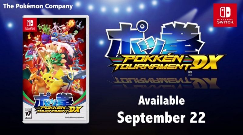 Pokemon Nintendo Direct Update Reveals Pokken Tournament DX For Switch