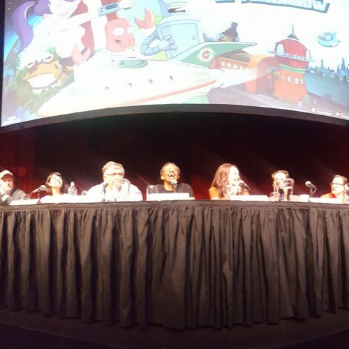 Futurama cast live reading for the release of their new game!