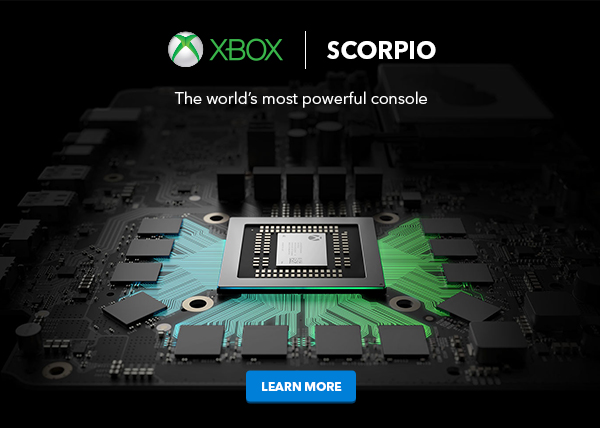 Microsoft's Project Scorpio could cost $499