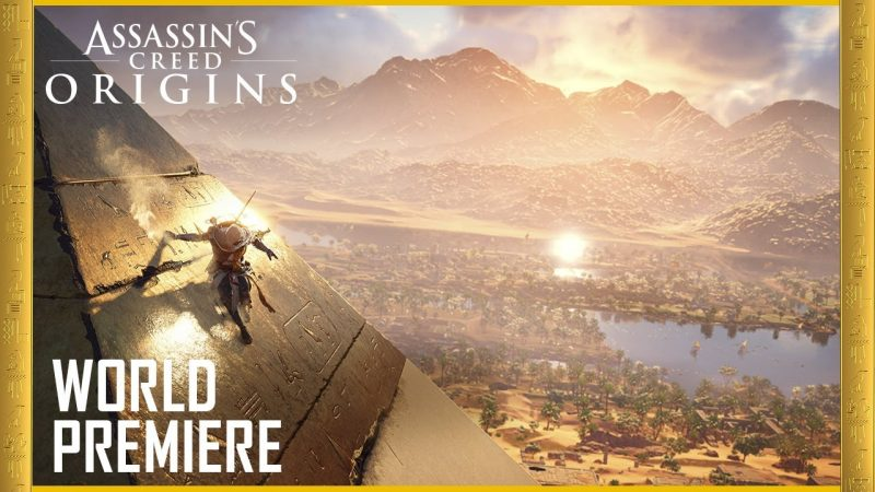 Assassin's Creed Origins E3 trailer