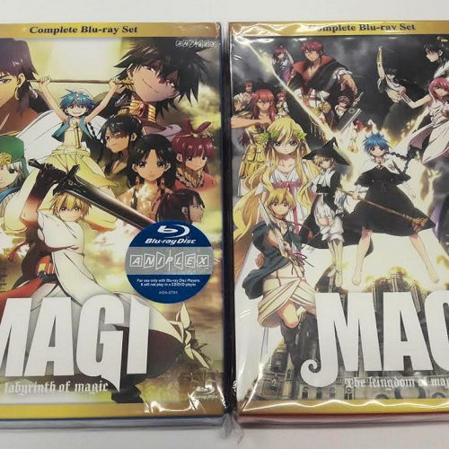Magi The Labyrinth of Magic & The Kingdom of Magic Complete Box Set review