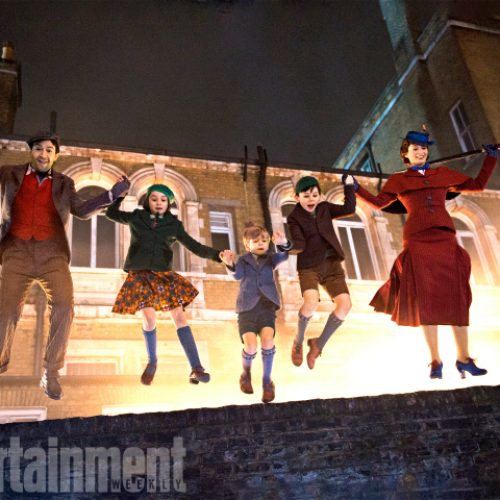 'Mary Poppins Returns' reveals new images of the characters