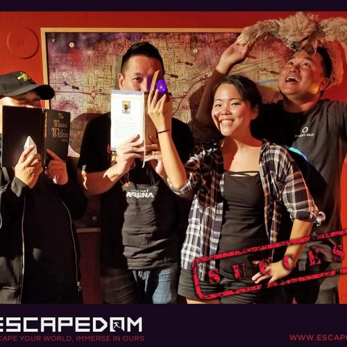 Escapedom: Westwood's premiere escape room