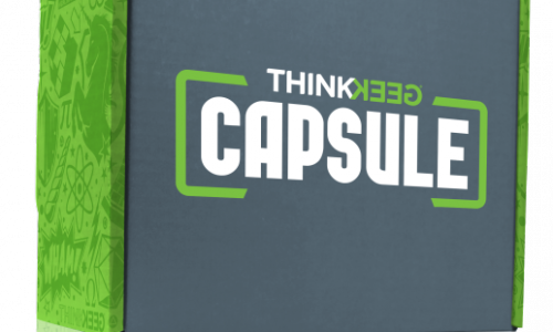 ThinkGeek Capsule Box review – 'What's in the box?!'