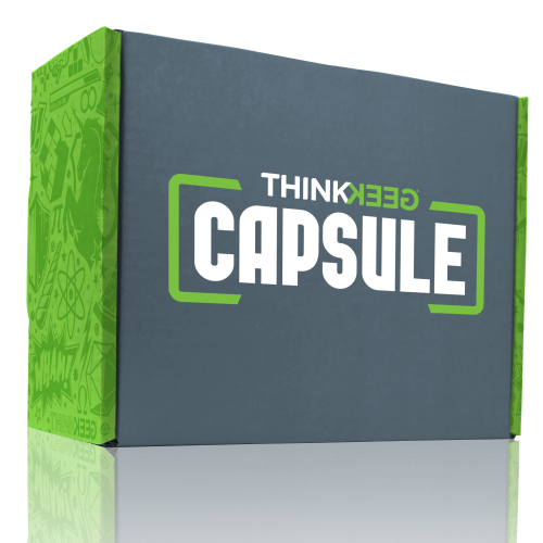 ThinkGeek Capsule Box #1 review – 'What's in the box?!'