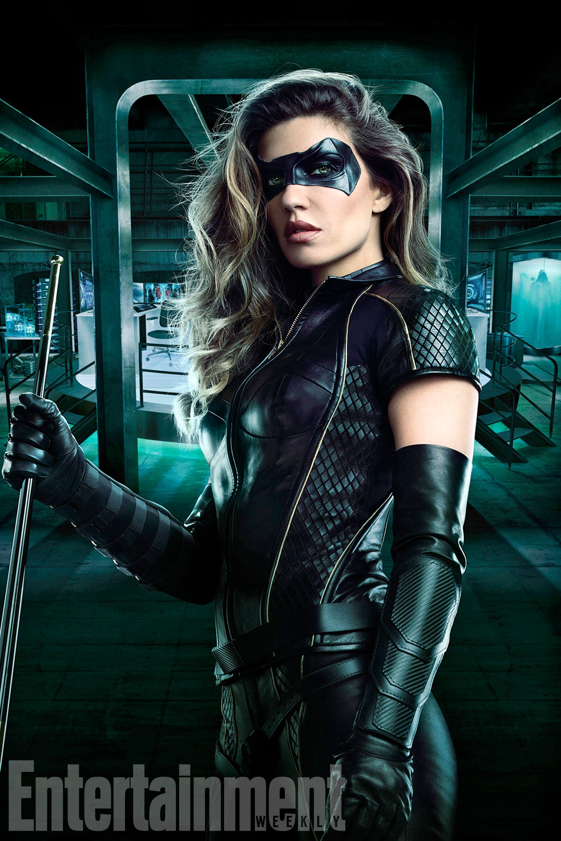 ARROW Image Number: AR06_BLACK_CANARY_0001 -- Pictured: Juliana Harkavy as Black Canary