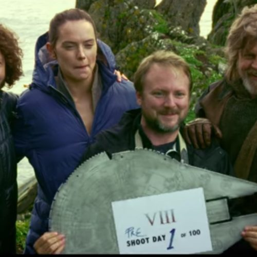 Star Wars: The Last Jedi gets a new behind-the-scenes trailer