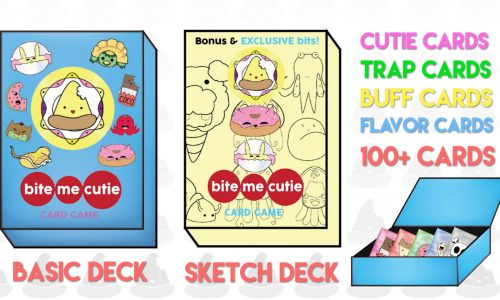 Bite Me Cutie: A tasty, kawaii card game on Kickstarter