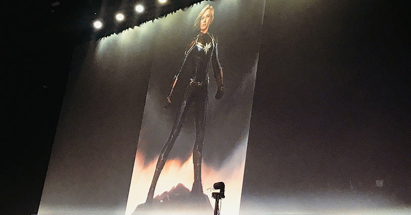 Captain Marvel - Costume Reveal (SDCC 2017)